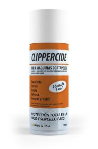 Protección máquinas cortar cabello, clippercide, barbicide, barbicide españa, desinfecta, limpia, lubrica, enfría